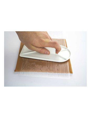 """PME Strukturmatte Prägematte Holzstruktur Rinde  - Impression Mat – Bark (150 x 305mm / 6 x 12"""") – Bild 3"""