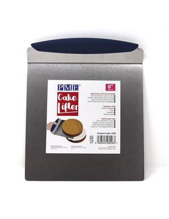 PME Edelstahl Kuchenheber - PME Stainless Steel Cake Lifter (20cm / 8in) – Bild 1