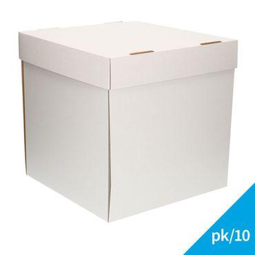 FunCakes Tortenschachtel  32x32x32cm - 10 Kartons