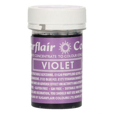 Sugarflair Pastenfarbe Violet - lila