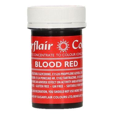 Sugarflair Pastenfarbe Blood Red - blutrot