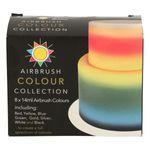 Sugarflair 8er Set Airbrushfarbe 8 x 14ml 001