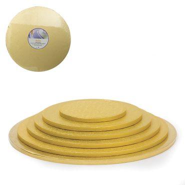 Cake Drum gold rund 36 cm