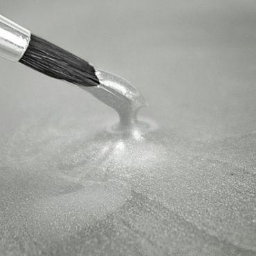 Rainbow Dust flüssige Metallicfarbe White – Weiss – Bild 1