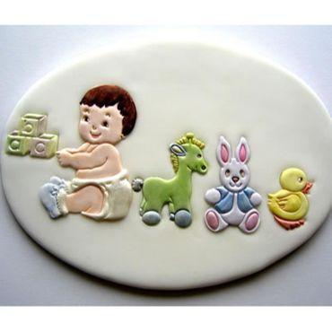 Patchwork Cutters Nursery Set – Babys Artikel 5 teilig – Bild 1