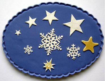 Patchwork Cutters Snowflake and Stars – Schneeflocken und Sterne – Bild 1
