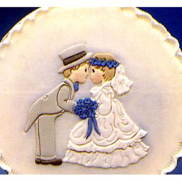 Patchwork Cutters Bride and Groom   –  Braut und Bräutigam  – Bild 1