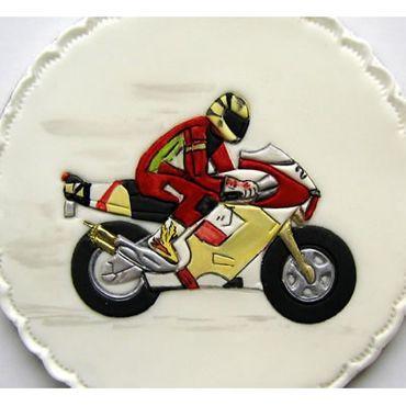 Patchwork Cutters  Motorbike – Motorradfahrer