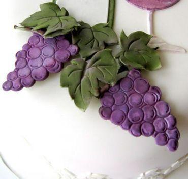 Patchwork Cutters Grapes and Vines – Weintrauben und Glas in zwei Größen