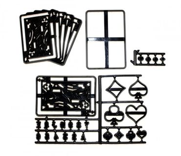 Patchwork Cutters Playing Cards – Spielkarten Set 28 teilig – Bild 2