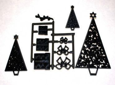 Patchwork Cutters Christmas Tree – Weihnachtsbäume und Geschenke 9 teilig – Bild 2