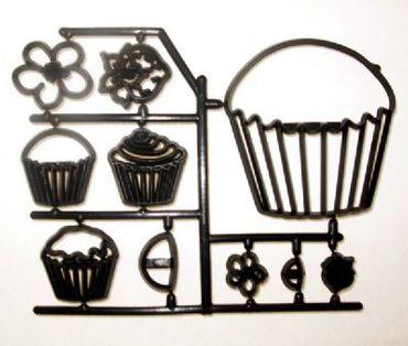 Patchwork Cutters Cupcakes – Cupcakes und Muffins im Set 10 teilig