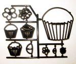 Patchwork Cutters Cupcakes – Cupcakes und Muffins im Set 10 teilig 001