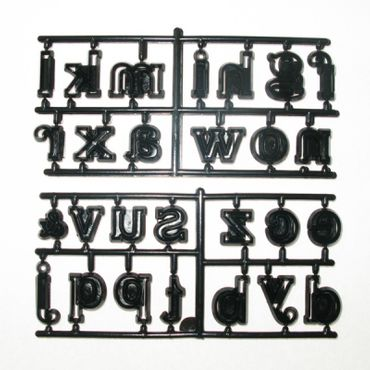 Patchwork Cutters Large Alphabet Lower Case – Kleinbuchstaben Ausstecher Set  – Bild 2