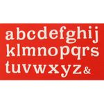 Patchwork Cutters Large Alphabet Lower Case – Kleinbuchstaben Ausstecher Set  001