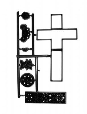 Patchwork Cutters Large Cross Lace Set – großes Kreuz 7 teilig  – Bild 2