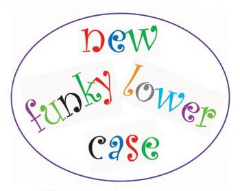 FMM Funky Kleinbuchstaben Ausstecher