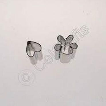CelCakes kleine Stiefmütterchen Blütenblatt Ausstecher aus Metall Set – 2 teilig