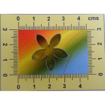 CelCakes Stephanotis - Kranzblumen Blütenblatt Ausstecher aus Metall
