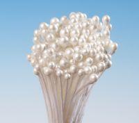 Blütenpollen perlmutt glänzend  mit Kugel