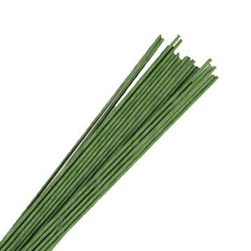 Blumendraht 22 g grün - 25 Drähte pro Packung