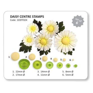 JEM Margeritenpollen Prägestempel - Daisy Centre Stamps