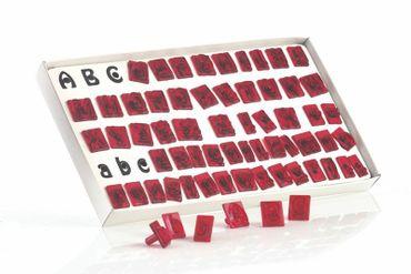 JEM Alphabet Cutter Set – Buchstaben Ausstecher Set – 64 teilig
