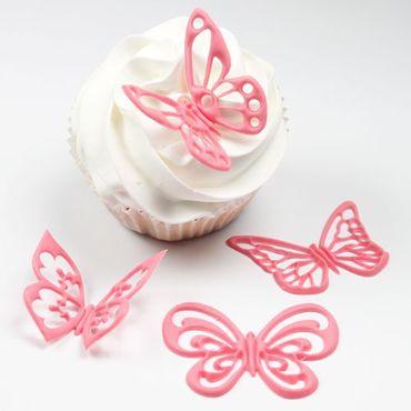 JEM Fantasy Butterflies - Schmetterlings Ausstecherset – 4 teilig – Bild 3