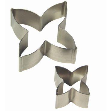 PME Seidelbast Ausstecher Set - Daphne Flower / Petal Cutter -  2 teilig