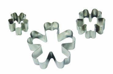 PME Primelausstecher aus Metall – 3 teilig – Primrose Metal Cutter