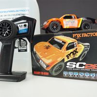 Beiz Elektrolyt +Arbeitsbehälter +Ablasshahn +RC Auto Associated SC28 – Bild 2