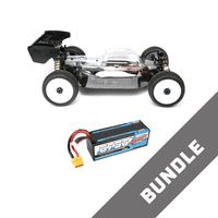 HB Racing E817 V2 1:8 Competition RC Buggy + LiPo 14.8V 6750 mAh 100C – Bild 1