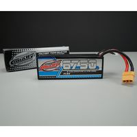 Team Corally X-Celerated LiPo Akku 6750 mAh 14.8V 100C Hard Case XT90 – Bild 2