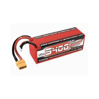 Team Corally Sport Racing LiPo Akku 5400 mAh 14.8V 50C Hard Case XT90 – Bild 1