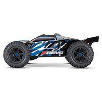 Traxxas E-Revo BL 2.0 4x4 VXL Monster Truggy 1:8 blau RTR – Bild 1
