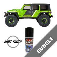 Jeep Wrangler JL Unlimited Rubicon Karosse unlackiert + Matt Finish