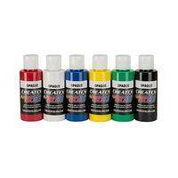Createx Airbrush Farben Opaque 6x 60ml Deckend – Bild 1