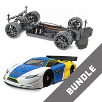 HB Racing RGT8-E Brushless Kit + Blitz GT4 Karosse 1:8 0,8mm dick – Bild 1