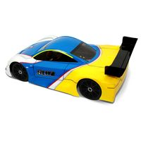 HB Racing RGT8-E Brushless Kit + Blitz GT4 Karosse 1:8 1,0 mm dick – Bild 6