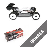 HB Racing E819 1:8 Brushless RC Buggy + Ruddog LiPo 6500mAh 15.2V 100c – Bild 1