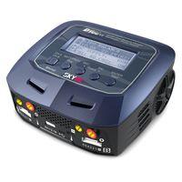 SkyRC Ladegerät D100 V2 AC/DC DUO + Corally LiPo 6750mAh 14.8V 100C – Bild 2