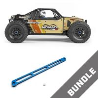 Team Associated Nomad DB8 Basher RTR Sand +Chassis Brace Aluminim – Bild 1