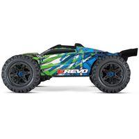 Traxxas E-Revo BL 2.0 4x4 VXL Monster Truggy 1:8 grün RTR – Bild 1
