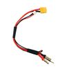 SkyRC Ladekabel XT60 für 2s LiPo Akku mit 4mm oder 5mm Buchse 001