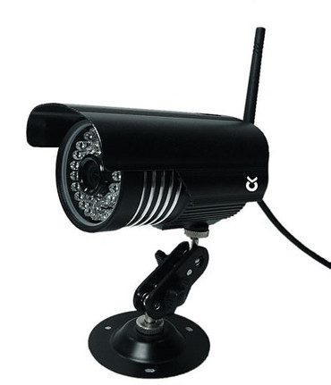 Additional stable camera including external antenna and video cable for 1085