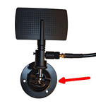 Wall holder for antenna 1085 001
