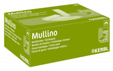 Mullbinde Mullino 10cm/4m, 20 St. in Klinikverpackung – Bild 2
