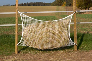 Hay Net 160 x 100 cm; for 24-hour feeding – Bild 1