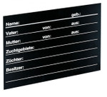 PLAQUE DE BOXE PVC NEUTRE 001