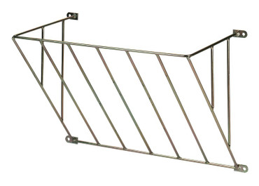Hayrack galvanized, single